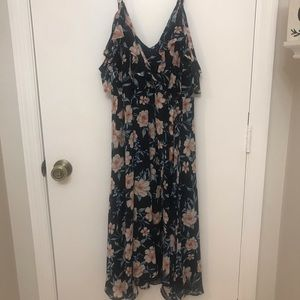 Torrid Navy Floral Dress